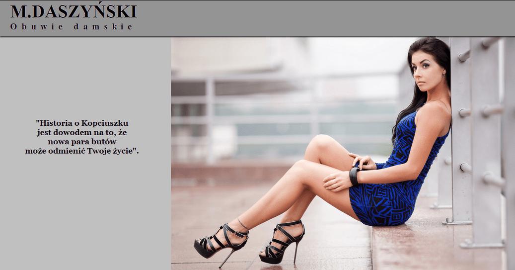 Daszynski- damskie obuwie