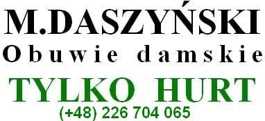 M.DASZYŃSKI- HURT OBUWIA DAMSKIEGO